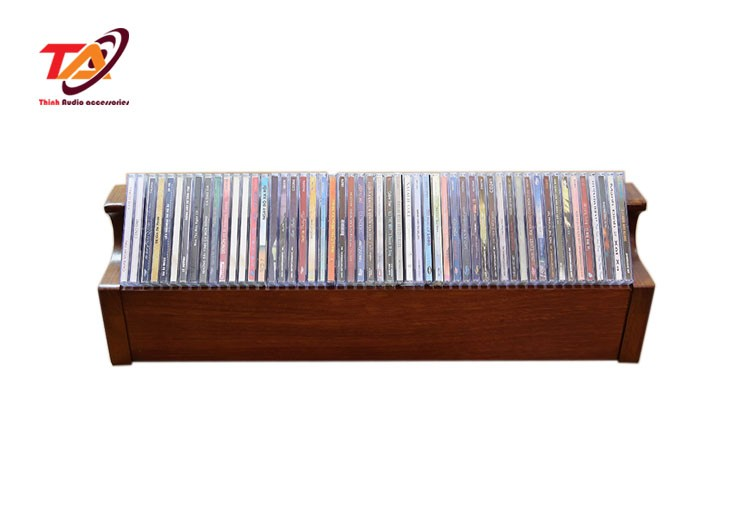 KỆ GỖ ĐỂ ĐĨA CD TACD01