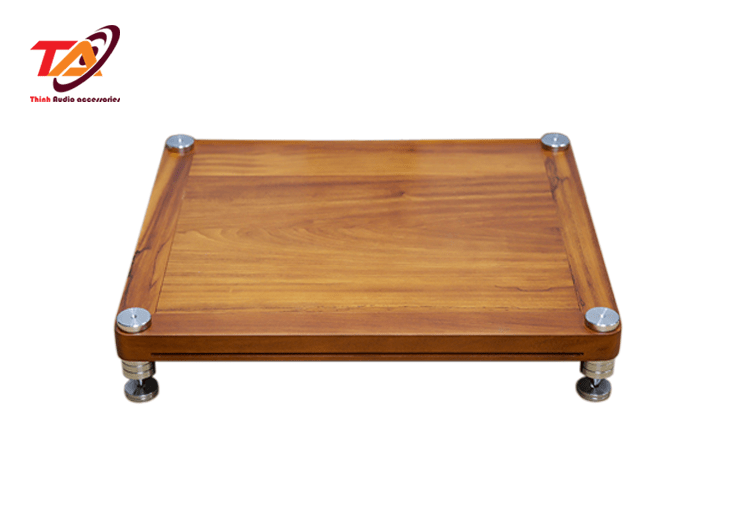 Kệ gỗ trụ inox TAGI01