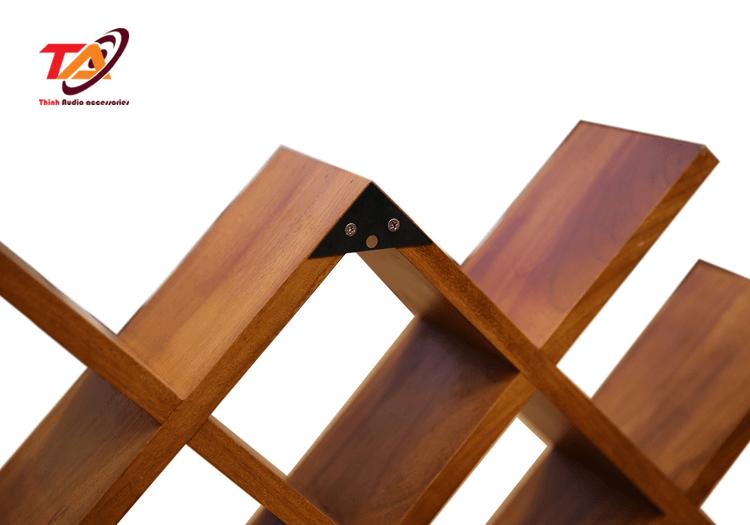 Kệ gỗ để đĩa Cd TACD03