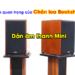 Chân loa bookshelf sản phẩm không thể thiếu cho dàn âm thanh mini